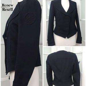 William Rast Snap Front Waist Jacket
